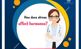 How does Stress affect harmones?