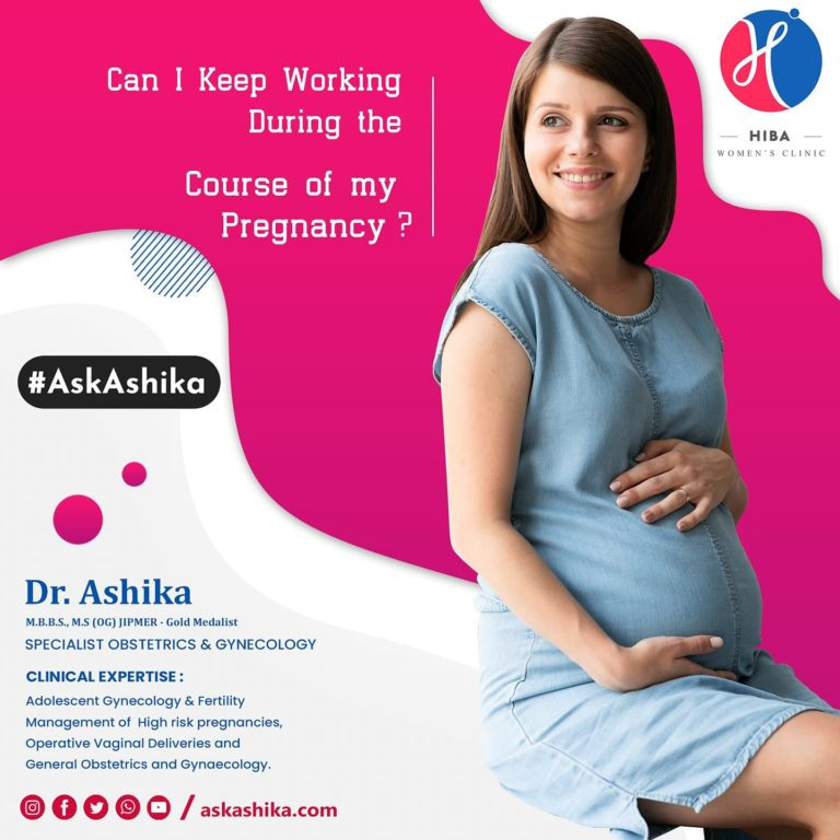 Can I Keep Working during the Course of my Pregnancy?
