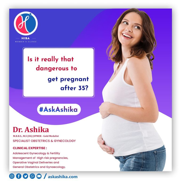 Is it really that dangerous to get pregnant after 35?