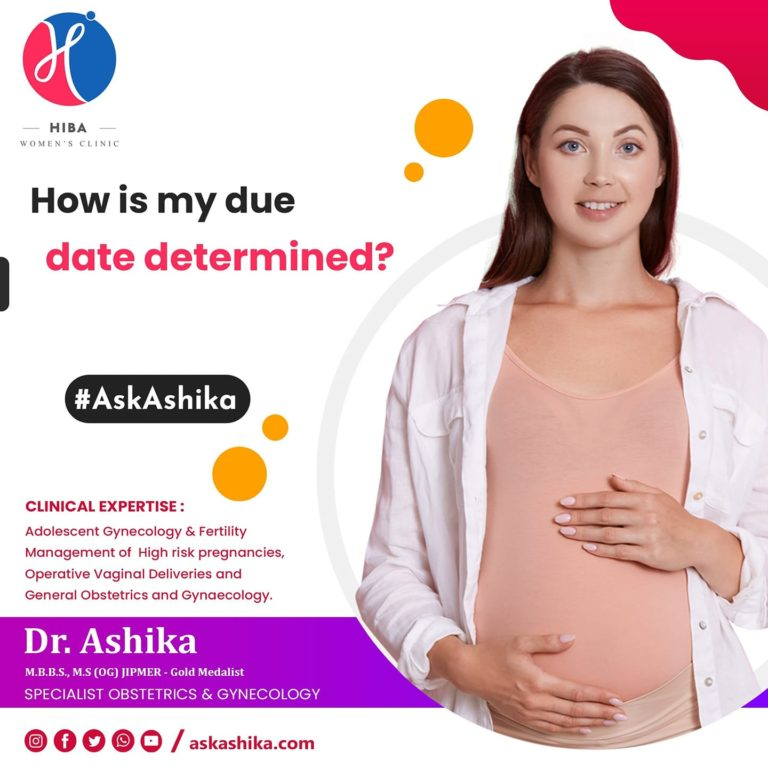 How is my due date determined?